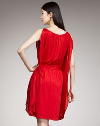 Marc By Marc Jacobs | Red Lucinda Jersey Dress | Lyst