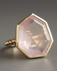 Stephen Dweck - Pink Faceted Rose Quartz Ring - Lyst