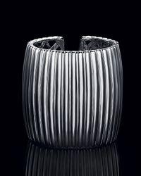 John Hardy | Metallic Bedeg Sterling Silver Kick Cuff, Wide | Lyst