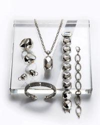 Lagos | Metallic Sterling Torque Bracelet | Lyst