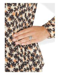 Aurelie Bidermann - Metallic Silver Coiled Snake Ring - Lyst