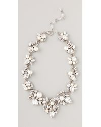 Erickson Beamon | Metallic White Wedding Necklace | Lyst
