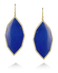 Ippolita | Blue Rock Candy 18karat Gold Lapis Lazuli and Diamond Earrings | Lyst