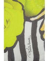 Roberto Cavalli - Multicolor Printed Silk Scarf - Lyst