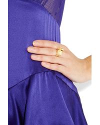 Solange Azagury-Partridge | Metallic Square Spinner 18karat Gold Ring | Lyst