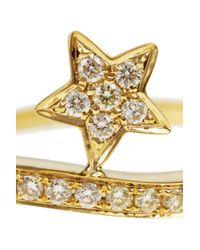 Anita Ko - Metallic Star 18karat Gold Diamond Ring - Lyst