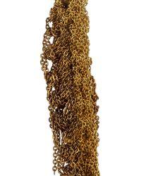 Arielle De Pinto - Metallic 14karat Goldvermeil Woven Chain Earrings - Lyst