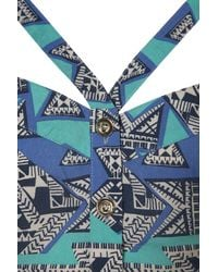 Motel - Blue Hula Bandeau By - Lyst