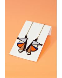 Nasty Gal | Multicolor Shape Shift Necklace | Lyst
