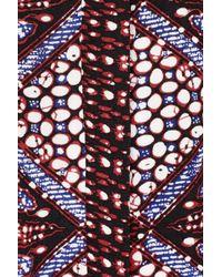 Sandro - Multicolor Pantagonie Printed Crepe Playsuit - Lyst