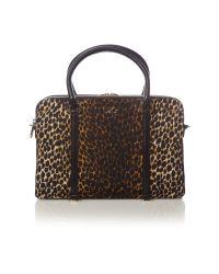 99242d8cb5 Dolce & Gabbana. Women's Leo Print Large Crossbody Bag
