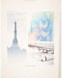 Scotch & Soda | White Paris Tshirt for Men | Lyst