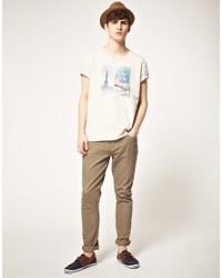 Scotch & Soda | White Paris Tshirt for Men | Lyst
