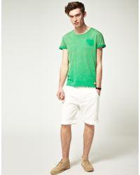 Scotch & Soda | White Scotch Soda Cotton Twill Chino Shorts for Men | Lyst