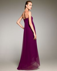 Jean Paul Gaultier | Purple Trapeze Maxi Dress | Lyst