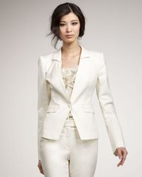 Rachel Zoe | Natural Megan Suit Jacket | Lyst
