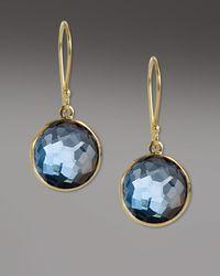 Ippolita - Blue Mini Lollipop Earrings - Lyst
