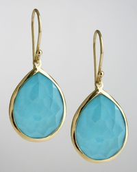 Ippolita | Blue Turquoise Teardrop Earrings | Lyst