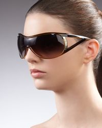 Jee Vice - Brown Vamp Open-temple Sunglasses - Lyst