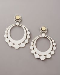 John Hardy | Metallic Large Dot Hoop Earrings | Lyst