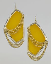 Kendra Scott | Metallic Kavita Earrings | Lyst