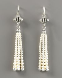 Lagos | Natural Luna Pearl-tassel Earrings | Lyst
