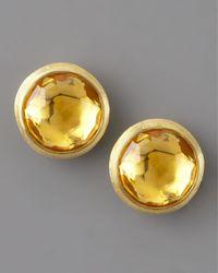 Marco Bicego - Orange Jaipur Citrine Stud Earrings - Lyst
