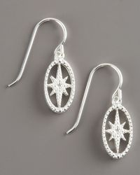 Mizuki - Metallic Starburst Earrings - Lyst