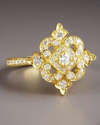 Penny Preville | Metallic Yellow Gold Diamond Ring | Lyst