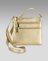 Cole Haan | Metallic Village Sheila Crossbody Bag | Lyst