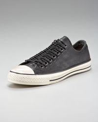 Converse Black Multi-eye Leather Sneaker for men