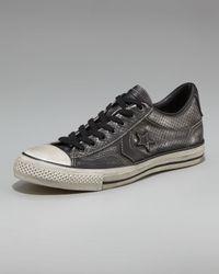 Converse | Black Snake-print Sneaker for Men | Lyst