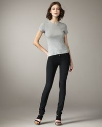 Current/Elliott | The Legging Jet Black Jeans | Lyst