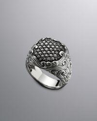 David Yurman | Metallic Waves Ring for Men | Lyst