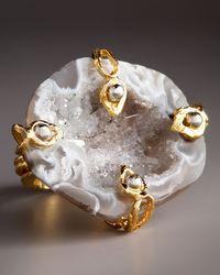 Devon Leigh | Metallic Free-form Drusy Geode Ring | Lyst