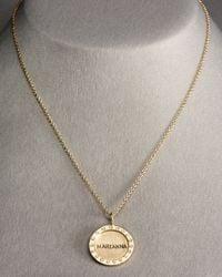 Heather Moore - Metallic Medium Personalized Diamond Charm - Lyst