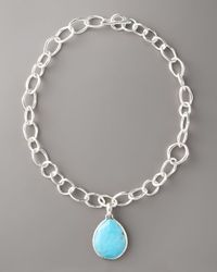 Ippolita | Blue Giant Turquoise Teardrop Enhancer | Lyst
