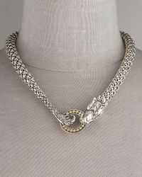 John Hardy | Metallic Naga Dragon Necklace | Lyst