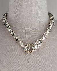 John Hardy - Metallic Naga Dragon Necklace - Lyst