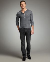 John Varvatos | Gray Harris Cast Iron Jeans for Men | Lyst
