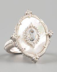 Judith Ripka | White Oasis Ring | Lyst