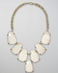 Kendra Scott | Harlow Necklace, White | Lyst