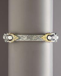 Konstantino | Metallic Adonis Id Bracelet for Men | Lyst