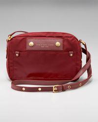 Marc By Marc Jacobs | Red Preppy Nylon Camera Bag Crossbody | Lyst