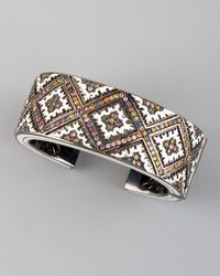 M.c.l  Matthew Campbell Laurenza | Metallic Persian Graphic Cuff Bangle | Lyst