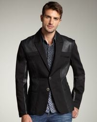Royal Underground - Black Western Blazer for Men - Lyst