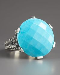 Stephen Dweck | Blue Round Turquoise Ring 18mm | Lyst