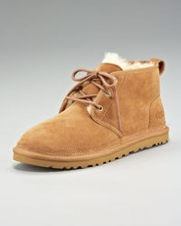 UGG Brown Neumel Suede Desert Boot for men