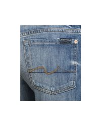 7 For All Mankind - Jeans Bootcut Jeans in Classic Vintage Blue - Lyst