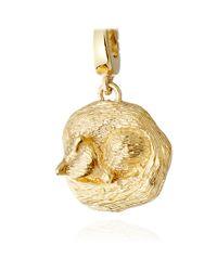 Astley Clarke - Metallic Sleeping Fox Charm - Lyst